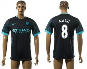 Camiseta del 8# Manchester City Away aaa version