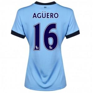 Camiseta Manchester City Fernandinho Segunda 2014/2015