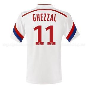 Camiseta de Lyon 2014/2015 Primera Ghezzal