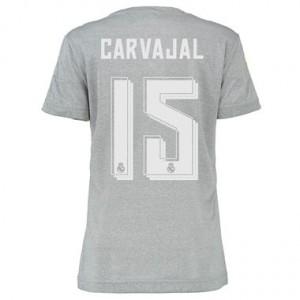 Mujer Camiseta del CARVAJAL Real Madrid Segunda Equipacion 2015/2016
