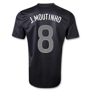 Camiseta Portugal de la Seleccion J Moutinho Segunda 2013/2014