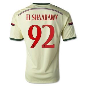 Camiseta nueva del AC Milan 2014/2015 Equipacion El.Shaarawy Tercera