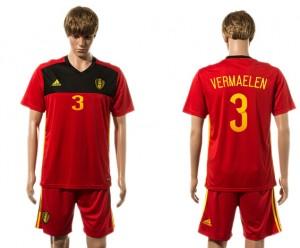 Camiseta nueva del Belgium 2015-2016 3#