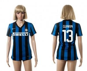 Mujer Camiseta del 13 Inter Milan 2015/2016