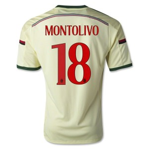 Camiseta del Montolivo AC Milan Tercera Equipacion 2014/2015