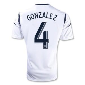 Camiseta nueva del Los Angeles Galaxy 2013/2014 Gonzalez Primera