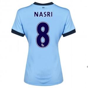 Camiseta del Dzeko Manchester City Segunda 2014/2015