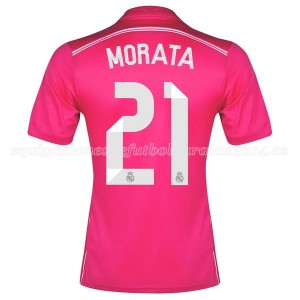 Camiseta nueva Real Madrid Morata Equipacion Segunda 2014/2015
