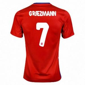 Camiseta Atletico Madrid GRIEZMANN Primera Equipacion 2015/2016