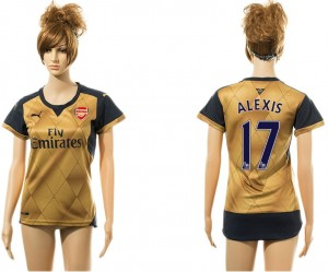 Camiseta nueva del Arsenal 17# Away