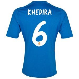 Camiseta de Real Madrid 2013/2014 Segunda Khedira Equipacion