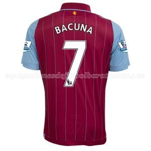 Camiseta nueva del Aston Villa 2014/15 Equipacion Bacuna Primera