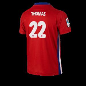 Camiseta de Atletico Madrid 2015/2016 Primera THOMAS Equipacion