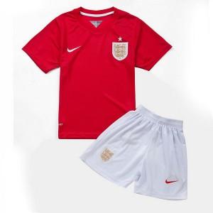 Camiseta nueva Inglaterra de la Seleccion Nino Segunda WC2014