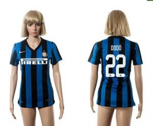 Camiseta Inter Milan 22 2015/2016 Mujer