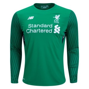 Camiseta nueva Liverpool Goalkeeper Long Sleeve Home 2017/2018