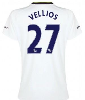 Camiseta de Tottenham Hotspur 2013/2014 Segunda Lamela