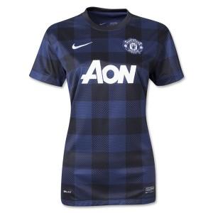 Camiseta nueva Manchester United Mujer Equipacion Segunda 2013/20