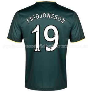 Camiseta Celtic Fridjonsson Segunda Equipacion 2014/2015