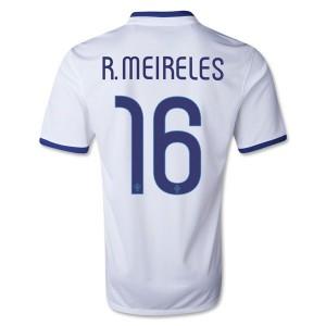 Camiseta Portugal de la Seleccion R.Meireles Segunda 2013/2014
