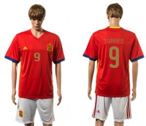 Camiseta nueva del España 2015-2016 9#