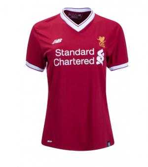 Mujer Camiseta del Liverpool Primera Equipacion 2017/2018
