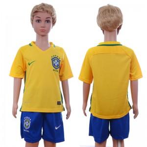 Camiseta de Brasil 2016/2017 Niños