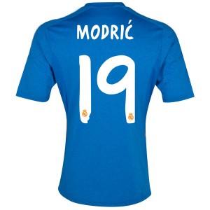 Camiseta de Real Madrid 2013/2014 Segunda Modric Equipacion