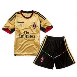 Camiseta nueva AC Milan Nino Equipacion Tercera 2013/2014