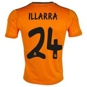 Camiseta de Real Madrid 2013/2014 Tercera Illarra Equipacion
