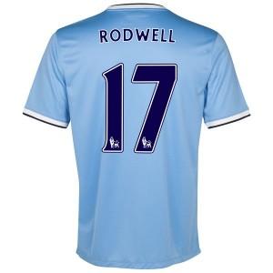 Camiseta Manchester City Rodwell Primera 2013/2014