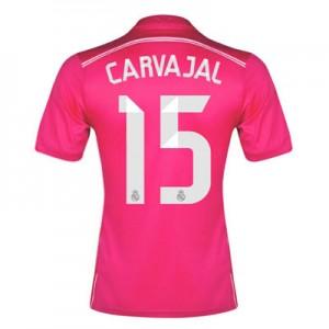 Camiseta nueva Real Madrid Daniel Carvajal Equipacion Segunda 2014/2015
