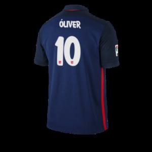 Camiseta nueva del Atletico Madrid 2015/2016 Equipacion OLIVER Segunda