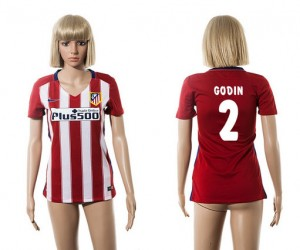 Camiseta nueva Atletico Madrid Mujer 2 2015/2016