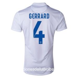 Camiseta Inglaterra de la Seleccion Gerrard Primera WC2014