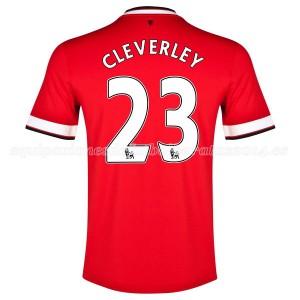 Camiseta nueva Manchester United Cleverley Primera 2014/2015