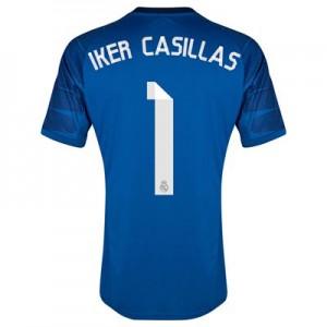 Camiseta Portero del Iker Casillas 20 Real Madrid Primera Equipacion