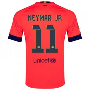 Camiseta Barcelona NEYMAR JR Segunda Equipacion 2014/2015