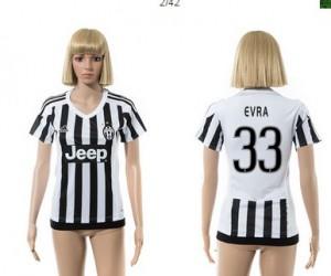 Camiseta de Juventus 2015/2016 33 Mujer
