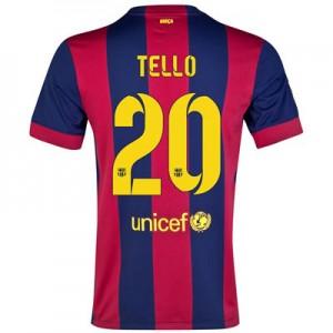 Camiseta de Barcelona 2014/2015 Primera TELLO Equipacion