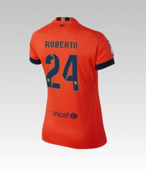 Camiseta nueva Barcelona Bartra Segunda 2013/2014