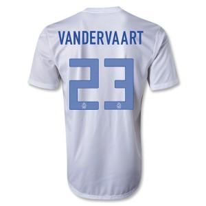 Camiseta Holanda Vandervaart Segunda 2013/2014