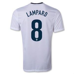 Camiseta de Inglaterra de la Seleccion 2013/2014 Primera Lampard