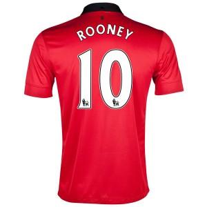 Camiseta del Rooney Inglaterra de la Seleccion Primera 2013/2014