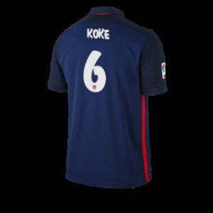 Camiseta nueva del Atletico Madrid 2015/2016 Equipacion KOKE Segunda