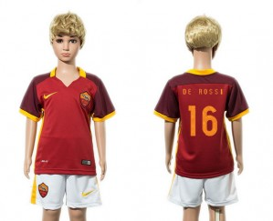 Camiseta nueva AS Roma Niños 16 2015/2016
