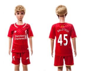 Niños Camiseta del 45 Liverpool 2015/2016