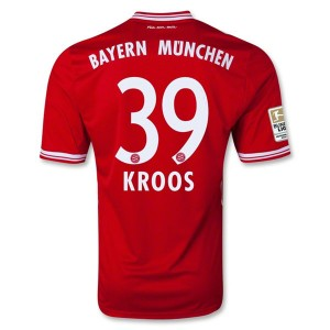 Camiseta de Bayern Munich 2013/2014 Primera Kroos Equipacion