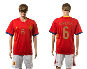 Camiseta nueva del España 2015-2016