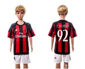 Camiseta nueva del AC Milan 2015/2016 #92 Niños Home